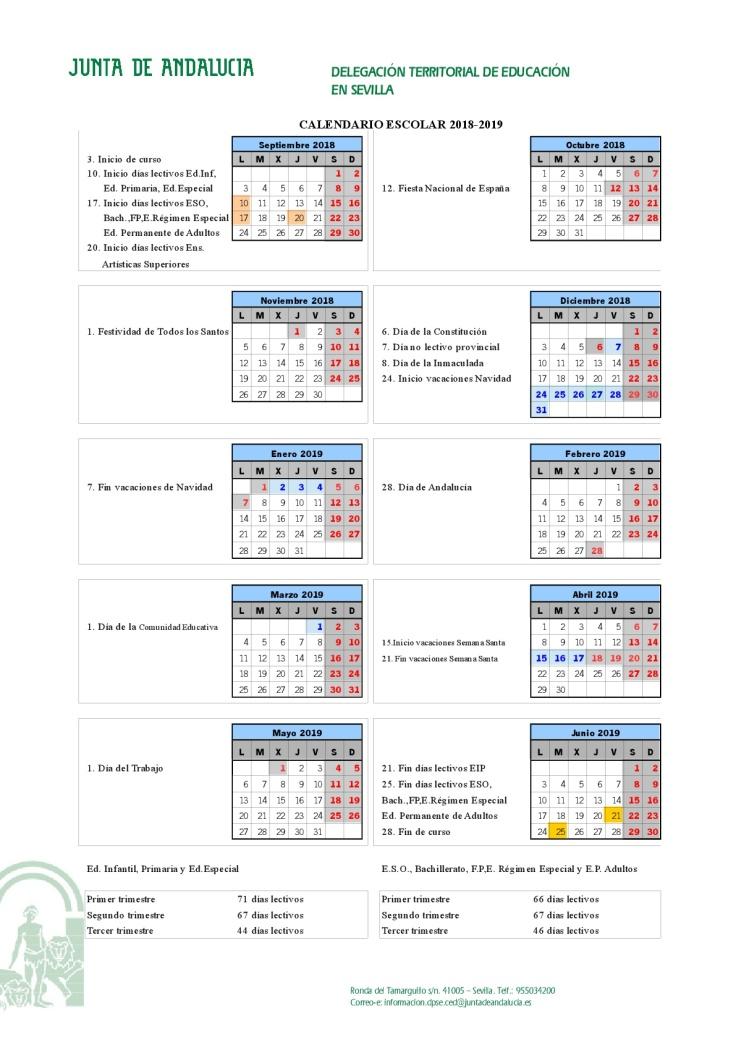 Calendario escolar 18.19-001