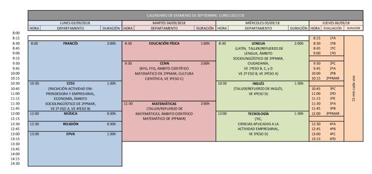 CALENDARIO EXÁMENES DE SEPTIEMBRE 2017.18 - definitivo (1)-001